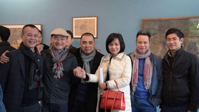 Một số khách mời và người phụ trách NICE tham dự buổi ra mắt hôm 15/12