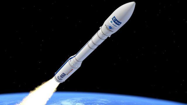 European Vega rocket lost minutes after liftoff