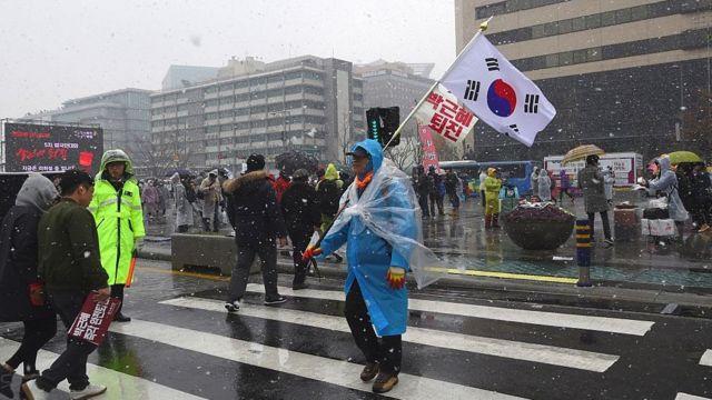 Протест в Сеуле