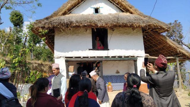 प्रधानमन्त्री ओलीको घर