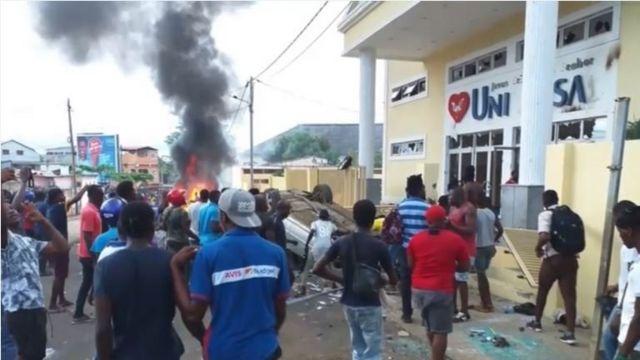 Universal em São Tomé