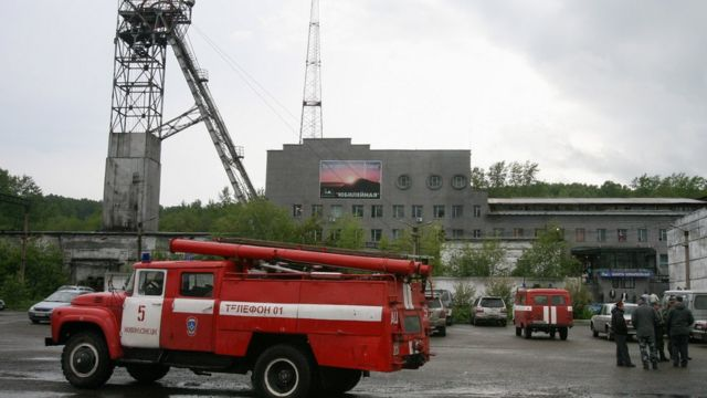 "Шахта ""Юбилейная"" (1997 год)"
