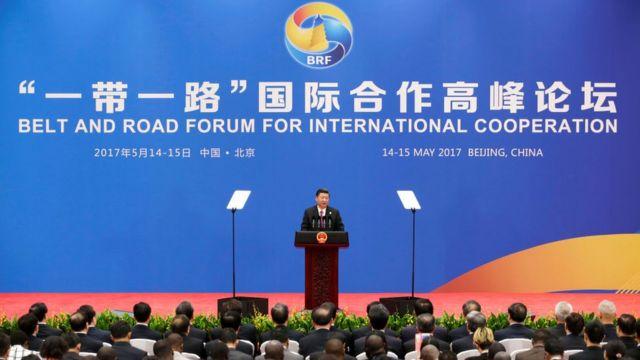 El presidente de China, Xi Jinping, anunció una nueva inyección de US$70.000 millones para el proyecto.