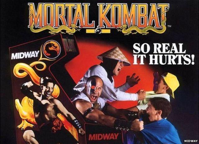 Mortal Kombat advert