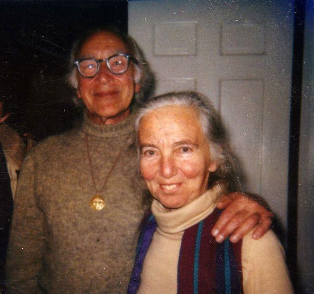 George Wald e Ruth Hubbard