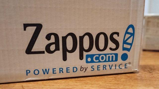 Caja de Zappos