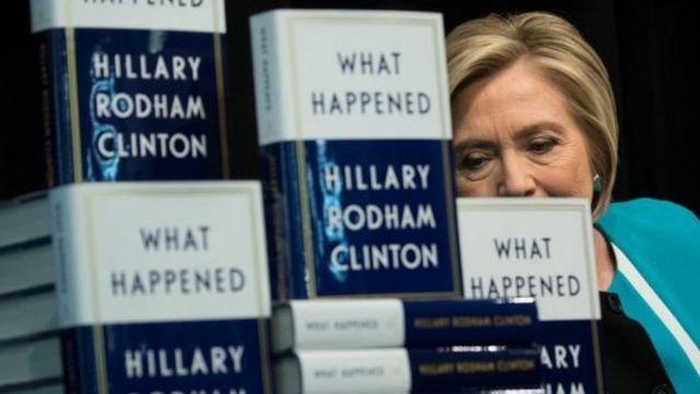 Хиллари Клинтон и ее новая книга