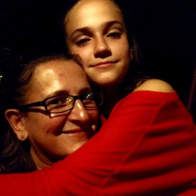 Paula con su hija Sofi. (Crédito: Paula Sáenz)
