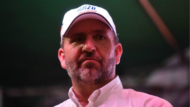 Candidato Roberto Arzú