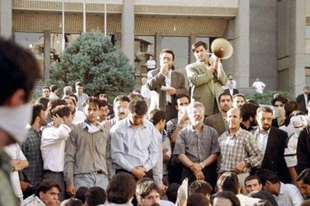 حمله به کوی دانشگاه تهران