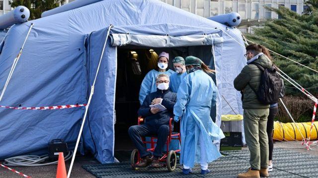 Север Италии больше всего пострадал от коронавируса
