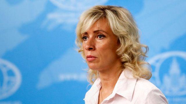 俄国外交部发言人玛丽亚·扎哈诺娃