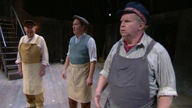 Shakespeare rehearsals
