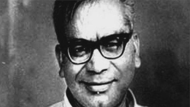 સમાજવાદી નેતા રામ મનોહર લોહિયાનો ફોટોગ્રાફ