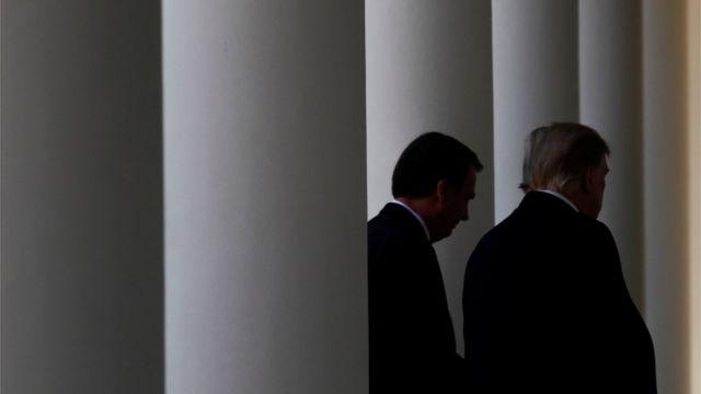 Bolsonaro e Trump em Washington