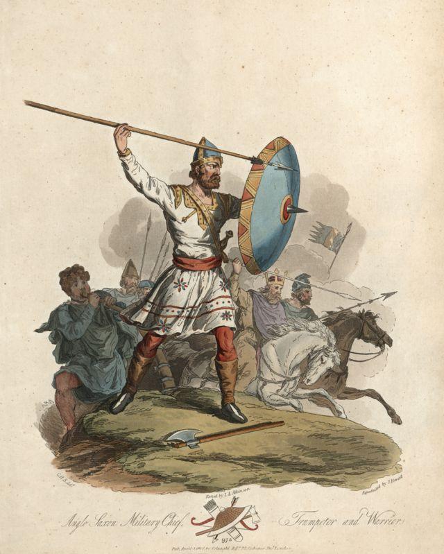 Англосаксонский воин Х века