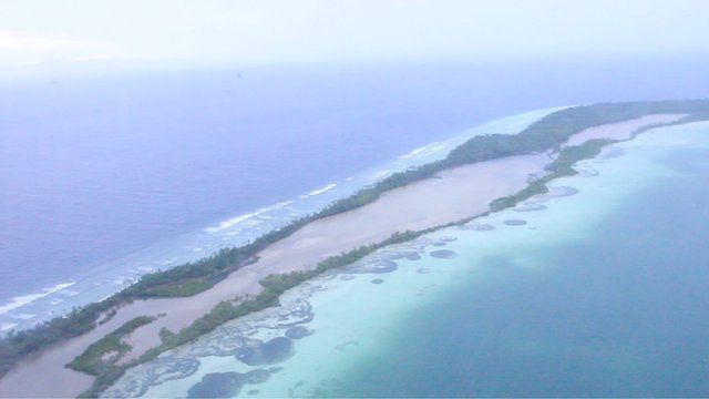 Kiribati is one of several low-lying countries under threat from rising sea levels