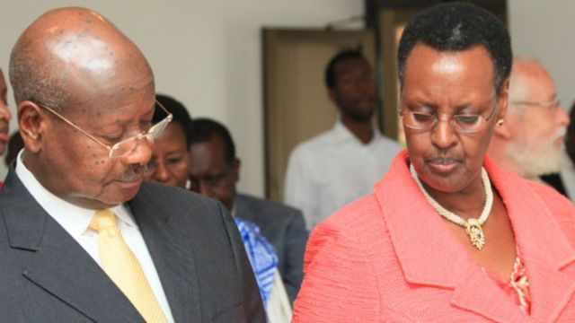 Museveni and janet