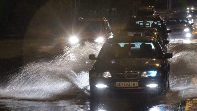 Ураган в Македонии