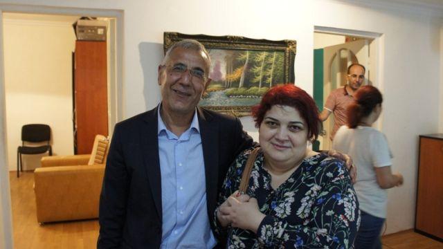 Интигам Алиев и Хадиджа Исмаилова