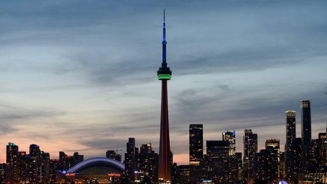 Vista panorámica de Toronto. (Foto: Héctor Retamal/AFP/Getty Images)