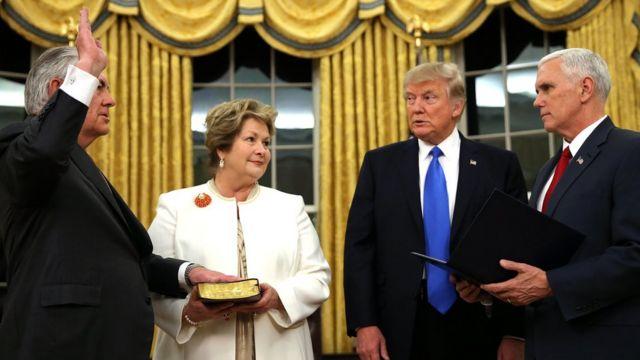 新 長官 アメリカ 国務