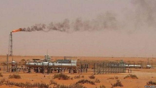 સાઉદી અરેબિયામાં તેલ