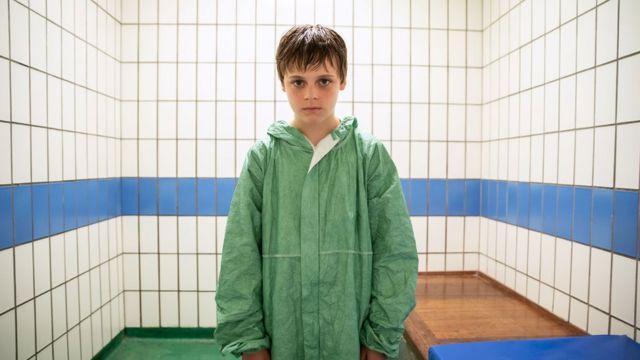 Billy Barrett as Ray in BBC Drama Responsible Child