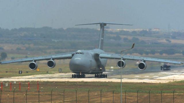 Турция, самолет, Инжирлик