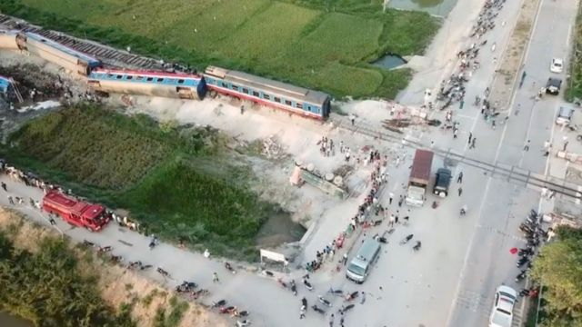 Việt Nam, đường sắt