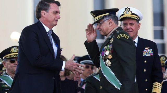 Bolsonaro com Pujol