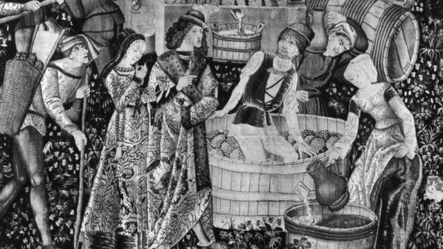 Preparación de vino