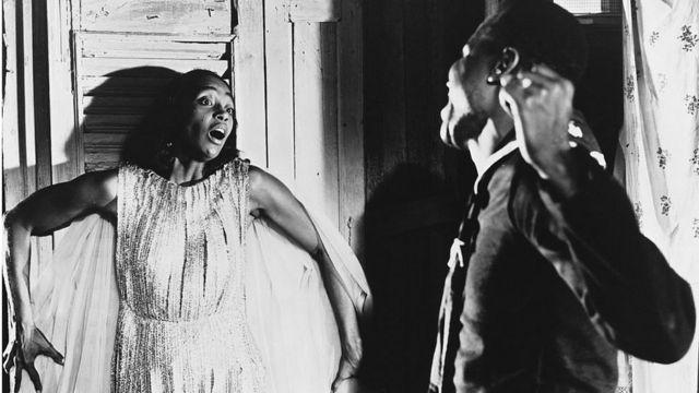 Siyah Orfe filminden bir sahne