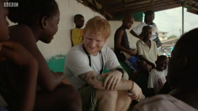 Ed Sheeran y Peaches