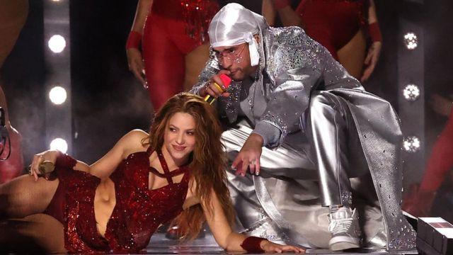 Shakira con Bad Bunny