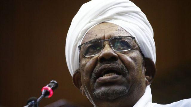 Omar al Bashir, expresidente de Sudán