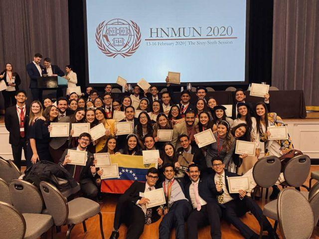 Estudiantes venezolanos en Harvard
