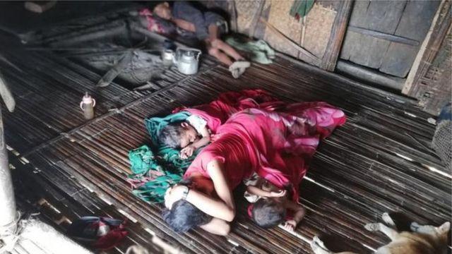 တမိသားစုလုံးဖျားနာနေတဲ့ နေအိမ်