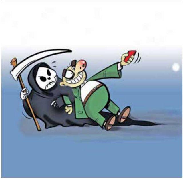 کارتون رحیم بقال اصغری. ایران