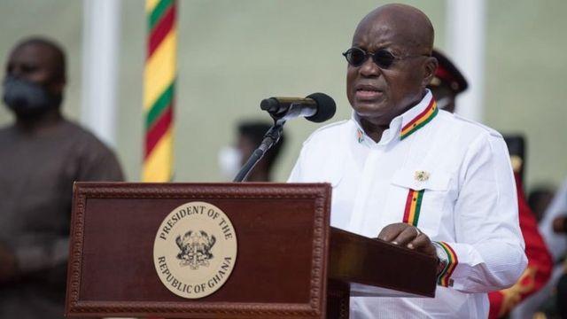 SONA 2021: Ghana Nana Akufo-Addo State of de Nation Address go feature  Covid-19 response, economic recovery den national unity - BBC News Pidgin