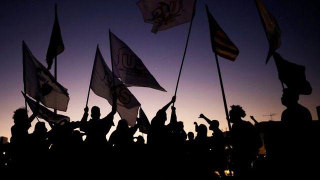 Protestos contra Bolsonaro realizados em 30 de junho