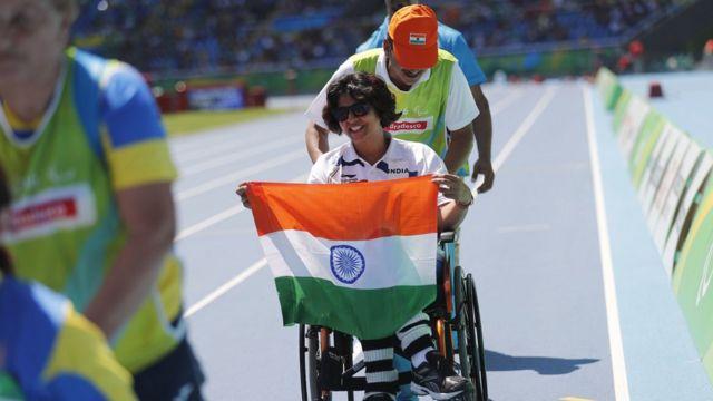 पैरालिंपिक्स में जिमनास्ट दीपा मलिक