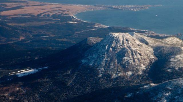 Вулкан Менделеева, о. Кунашир