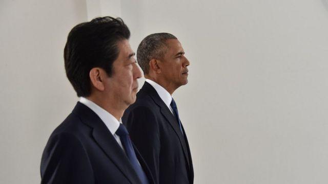 اوباما وآبي