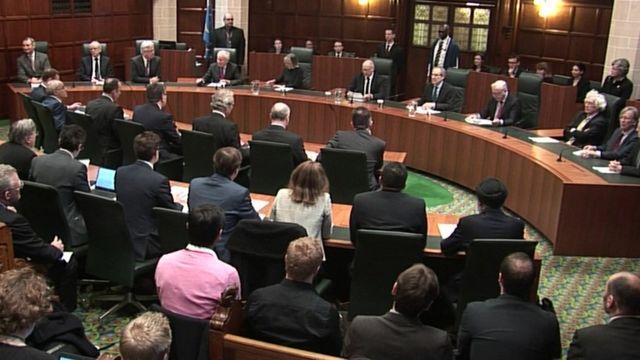 EU離脱通告には議会承認が必要=英最高裁 政府は法案提出へ - BBCニュース