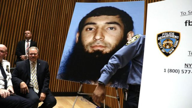 У нападі підозрюють громадянина Узбекистану Сайфулла Саїпова