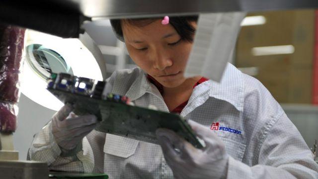 鴻海はアップルなど世界の主要企業の製品製造を請け負っている