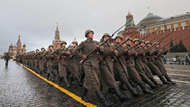 Rusia, Moskow, komunis