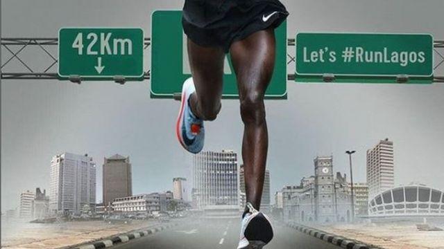 Person wey dey run for di marathon