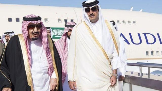 العلاقات القطرية الخليجية
